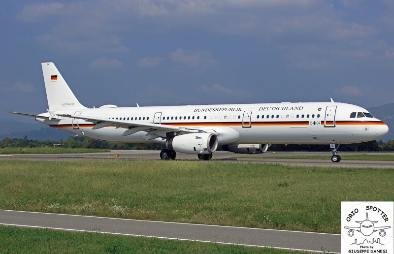 a321-231 germany air force luftwaffe  15-04