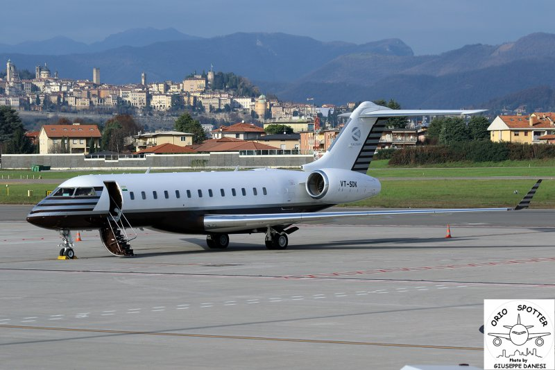 bombardier bd-700-1a10 global express  bharat forge vt-sdk