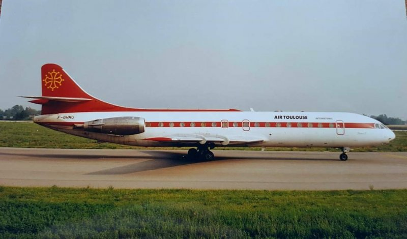 caravelle air toulouse f-ghmu