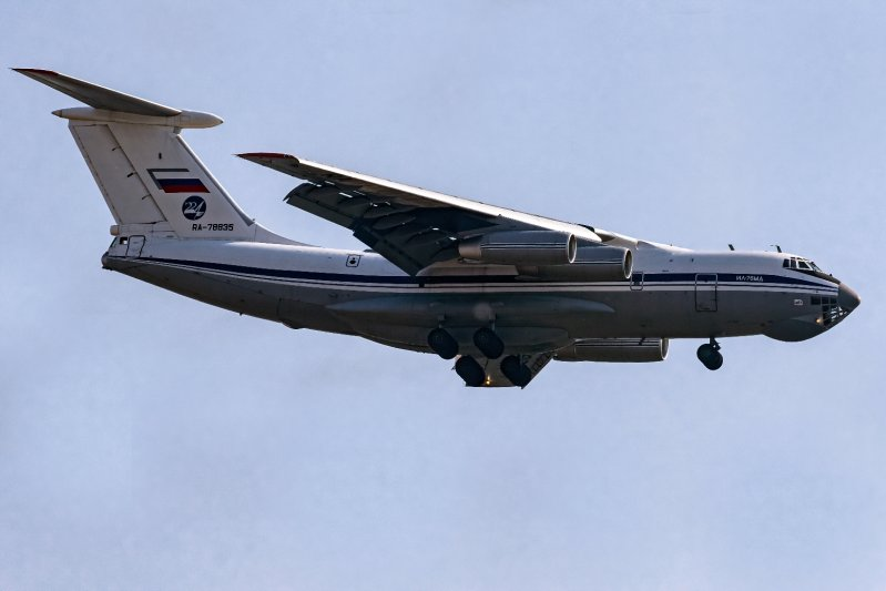 il-76 russian air force 78835